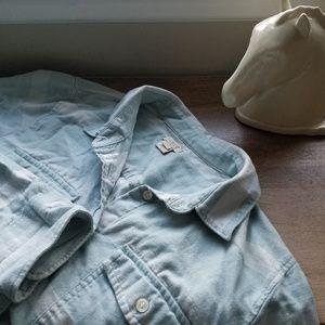 J Crew Cotton Button Down Shirt Size Large